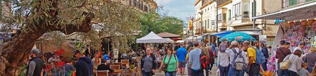 Markt in Santanyi