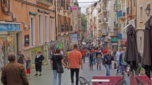 Die Innenstadt von Palma
