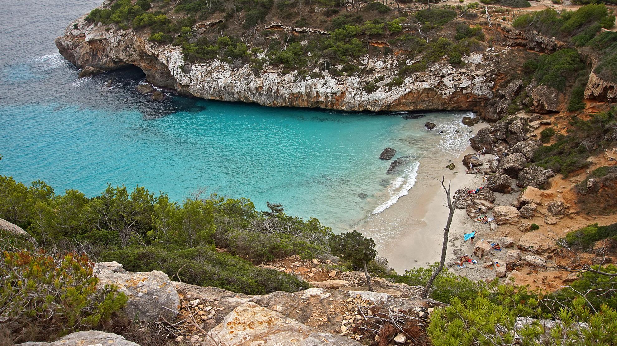 Caló des Moro – tropischer Strand von Mallorca